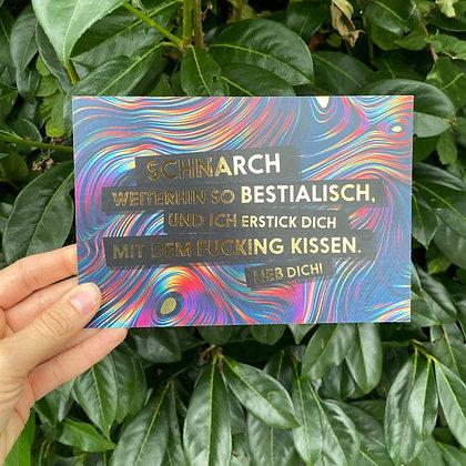 """FCK YOU CARDS - """"Schnarchen"""""""