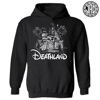 """""""Deathland"""" Hoodie - schwarz"""