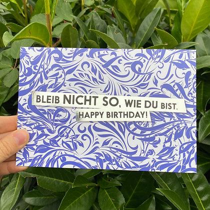 """FCK YOU CARDS - """"Bleib"""""""