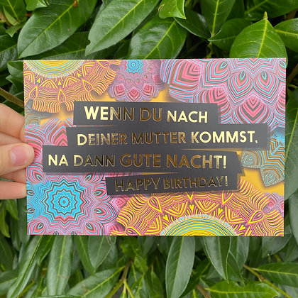 "FCK YOU CARDS - ""Mutter"""