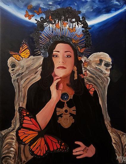 """Mictecacihuatl -Lady of the Bones"""