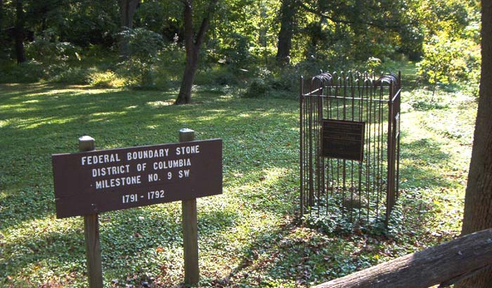 Boundary Stones in the District of Columbia