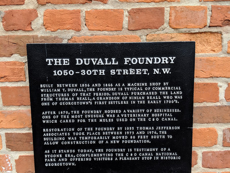 The Duvall Foundry - Georgetown, D.C.