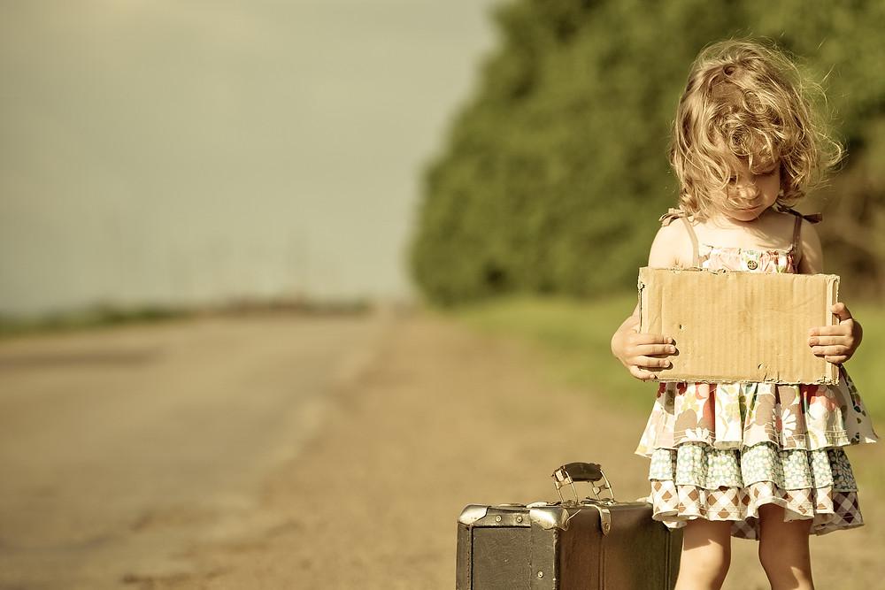 La historia de la niña del vestido blanco. Metas, motivación, abuso, historias reales