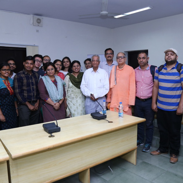 Lecture by Ravi Gomatam, Arts Faculty -