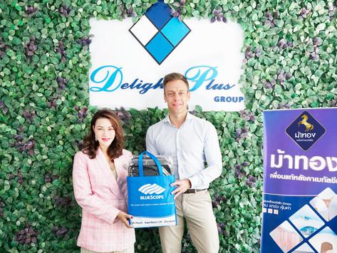ผู้บริหารบริษัท เอ็นเอส บลูสโคป (ประเทศไทย)จำกัด ได้เข้าพบคุณสุดนภา เจริญเวชชการ(COO/Vice-President)