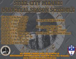 Menace Schedule