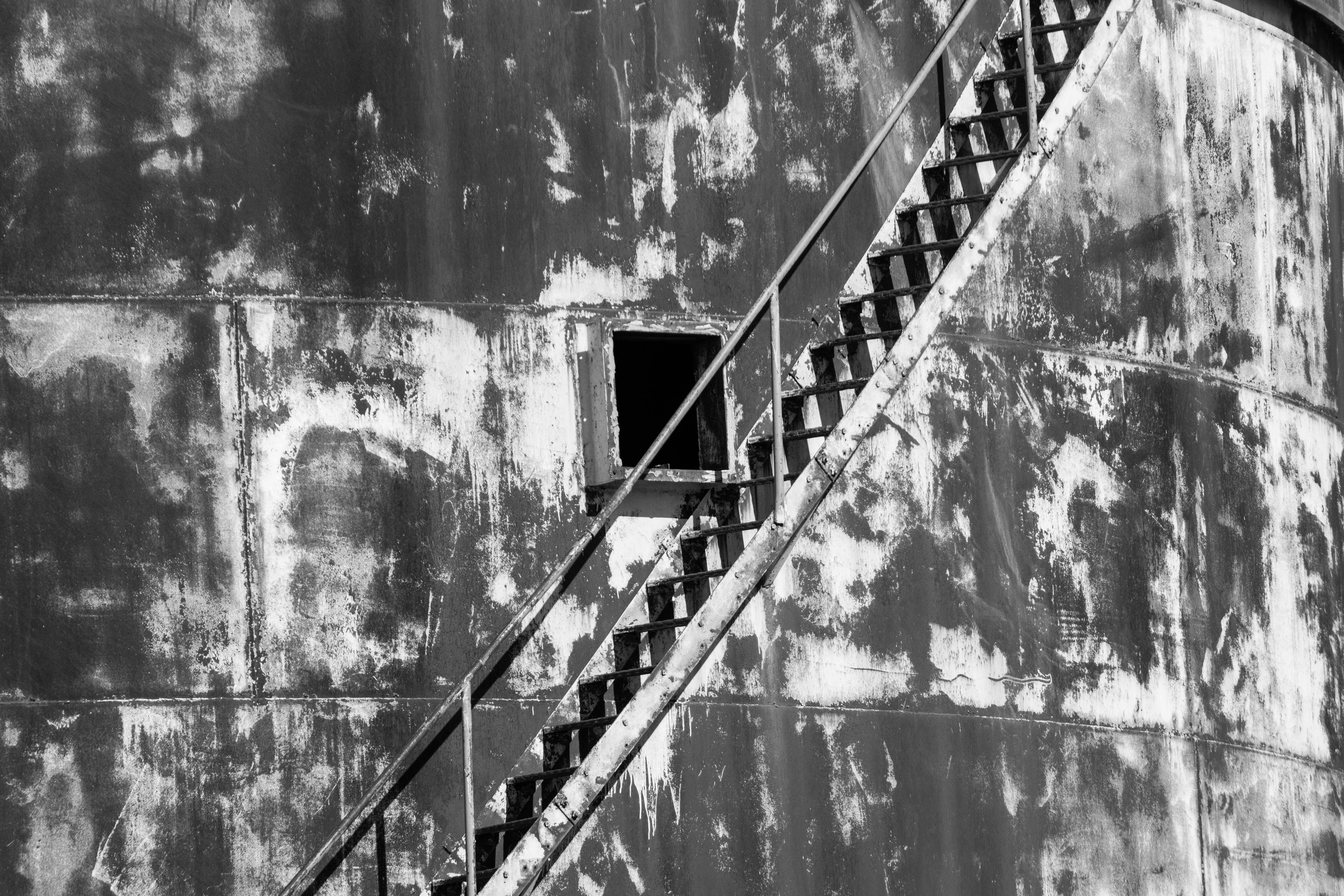Grain silo.