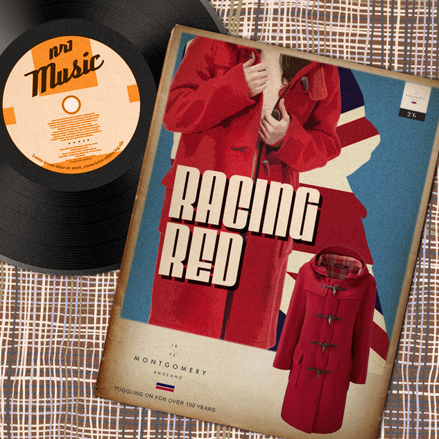 Racing Red Advert