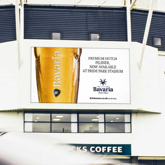 Bavaria Beer at Derby FC