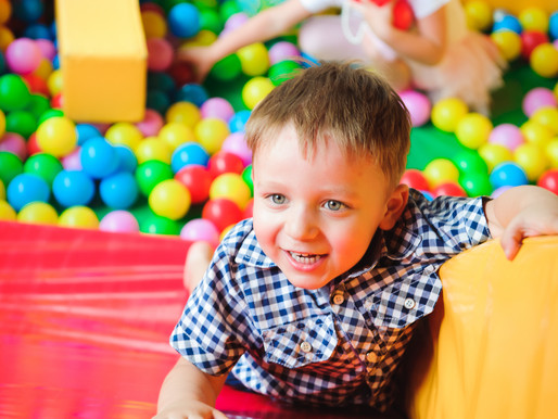Can Soft Play encourage gross motor development?