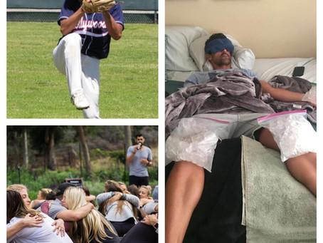 Baseball, Failure, Hugs and Living on the Edge