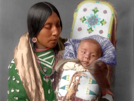 Nez Perce Mother & Child (1908)