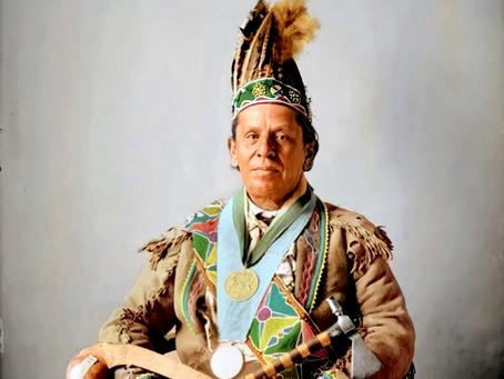 Waving Plume, Ojibwe (1898)