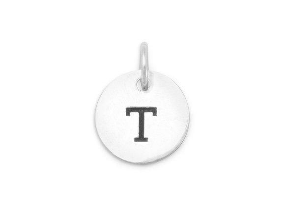 """Oxidized Initial """"T"""" Charm"""