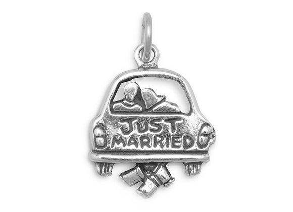Just Married Charm