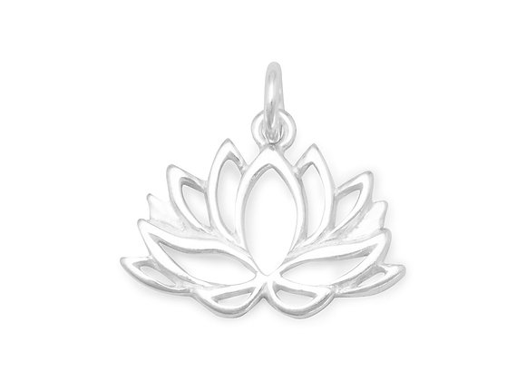 Lotus Flower Charm