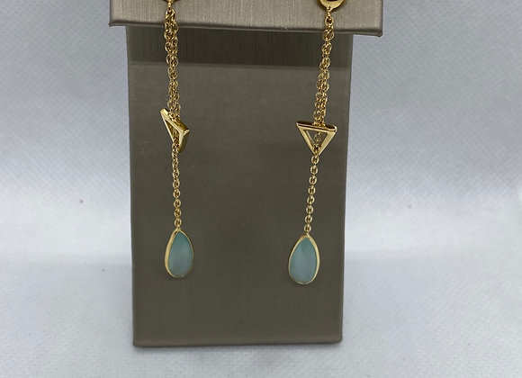 14k gold plated earrings