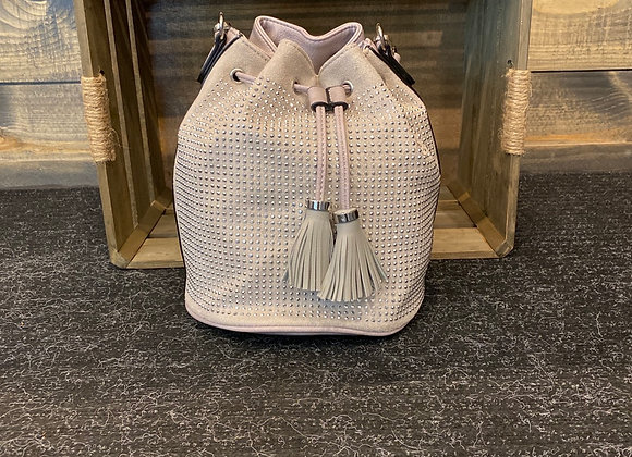 Light Grey hobo Handbag