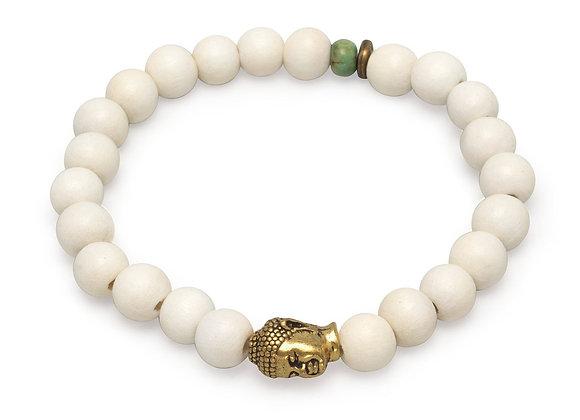 """8"""" Fashion Stretch Bracelet with Buddha Bead"""