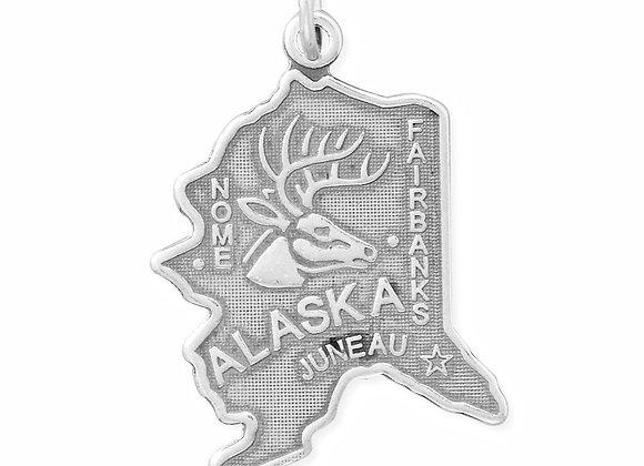 Alaska State Charm
