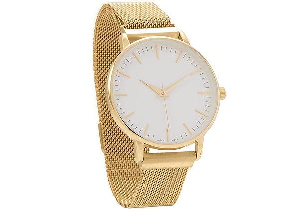 Gold Mesh Men's Magnetic Fashion Watch