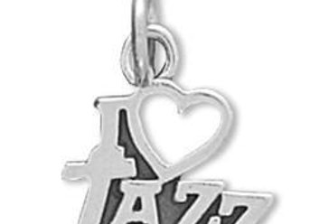 I Love Jazz Charm