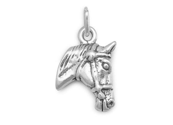 Horse Profile Charm
