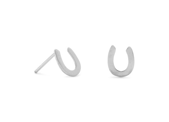 Horseshoe Stud Earrings