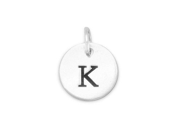 """Oxidized Initial """"K"""" Charm"""