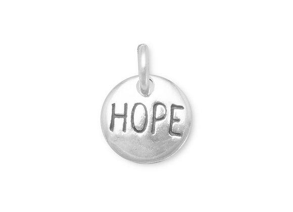 """Oxidized """"Hope"""" Charm"""