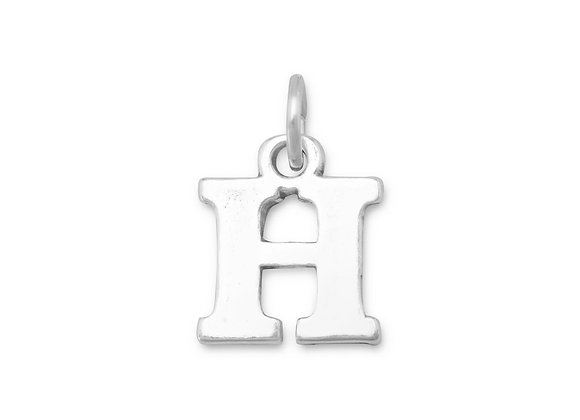 Greek Alphabet Letter Charm - Eta