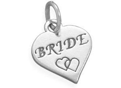 Oxidized Bride Charm