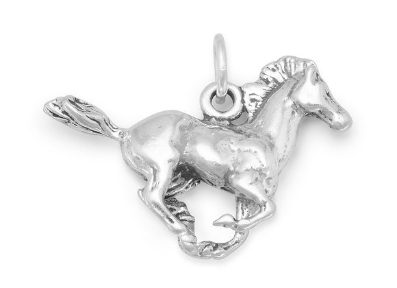 Running Horse Charm
