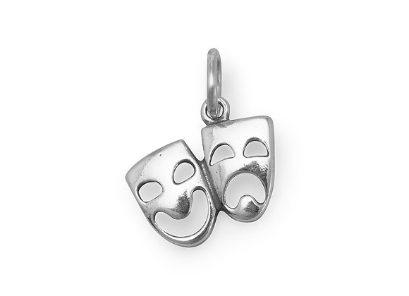 Comedy and Tragedy Mask Charm