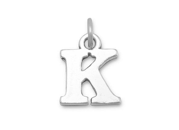 """Oxidized """"K"""" Charm"""