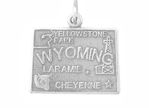Wyoming State Charm