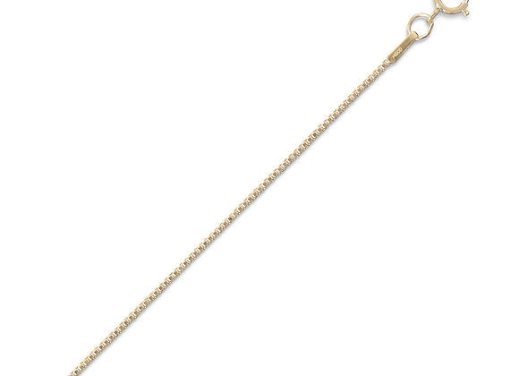 14/20 Gold Filled Box Chain (1mm)