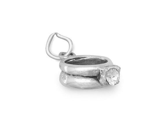 CZ Ring Charm