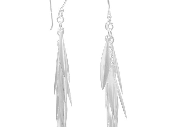 Marquise Cluster Drop Earrings