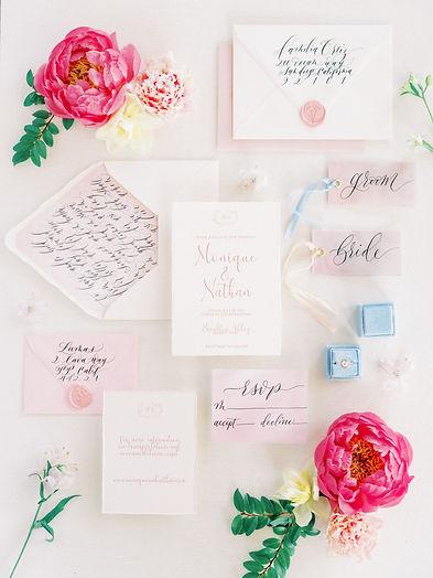 Invitation Envelope Calligraphy