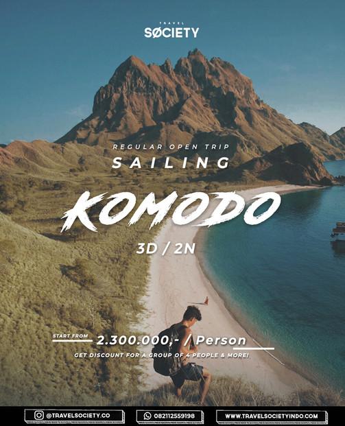 Sailing Komodo 3D2N (Regular)