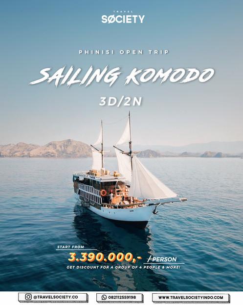 Sailing Komodo 3D2N (Phinisi Ship)