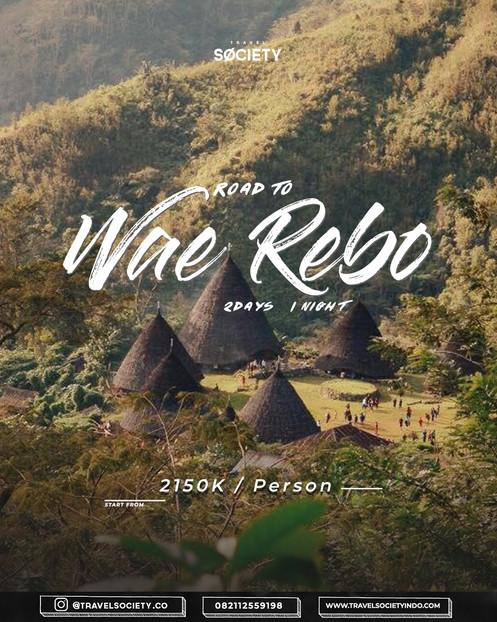 Road to Wae Rebo 2D1N