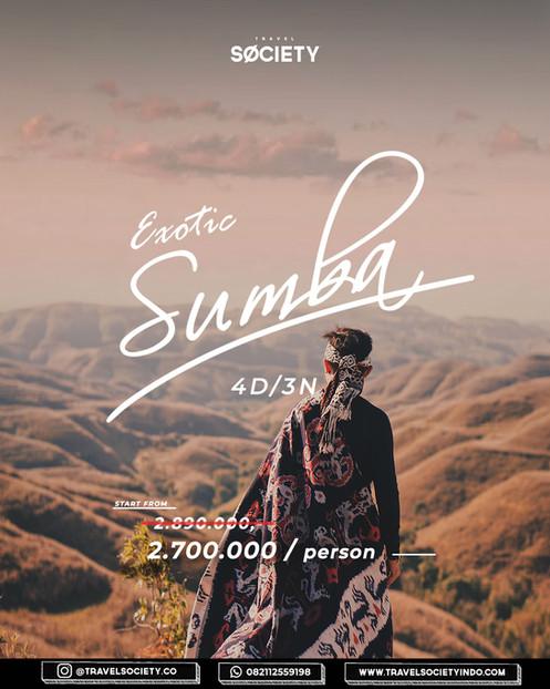Exotic Sumba 4D3N
