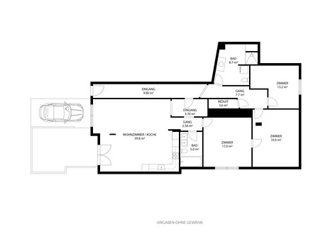 2D-Grundrissplan