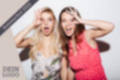 Layout-Beispiel bei Fotos mit der Multitalent-Fotobox.