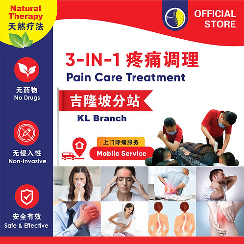 Drugless Spine & Pain Care Treatment - KL Branch Mobile Service