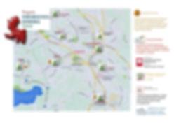Mappa  delle strutture di housing e accoglienza residenziale per minori