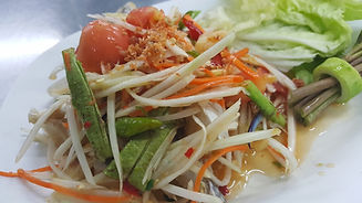 Thai Thai Bienne Papaya Salad